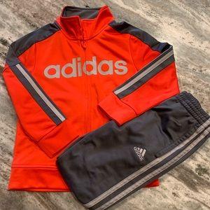 ADIDAS Matching set! Jacket & Pants size 5!